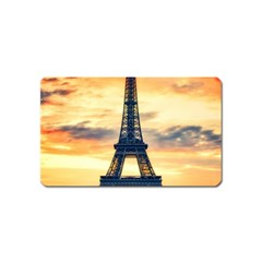 Eiffel Tower Paris France Landmark Magnet (name Card)