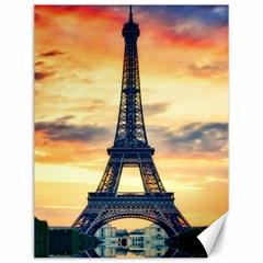 Eiffel Tower Paris France Landmark Canvas 12  X 16