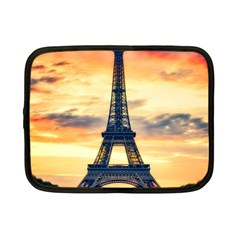 Eiffel Tower Paris France Landmark Netbook Case (small)  by Nexatart