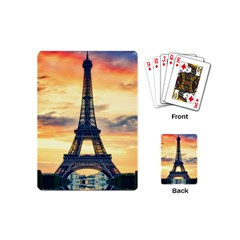 Eiffel Tower Paris France Landmark Playing Cards (mini)
