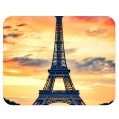 Eiffel Tower Paris France Landmark Double Sided Flano Blanket (medium)  by Nexatart