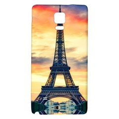 Eiffel Tower Paris France Landmark Galaxy Note 4 Back Case