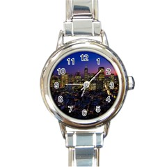 San Francisco California City Urban Round Italian Charm Watch