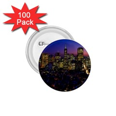 San Francisco California City Urban 1 75  Buttons (100 Pack)  by Nexatart