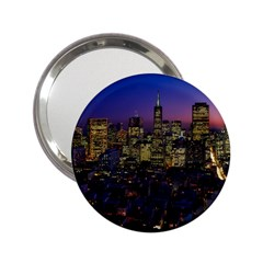 San Francisco California City Urban 2 25  Handbag Mirrors
