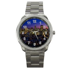 San Francisco California City Urban Sport Metal Watch