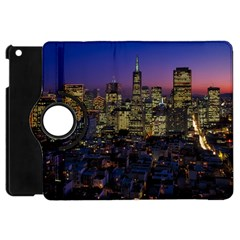 San Francisco California City Urban Apple Ipad Mini Flip 360 Case