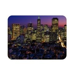 San Francisco California City Urban Double Sided Flano Blanket (mini)