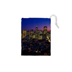 San Francisco California City Urban Drawstring Pouches (xs)