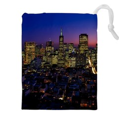 San Francisco California City Urban Drawstring Pouches (xxl)