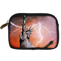 Statue Of Liberty New York Digital Camera Cases by Nexatart