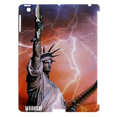 Statue Of Liberty New York Apple Ipad 3/4 Hardshell Case (compatible With Smart Cover) by Nexatart