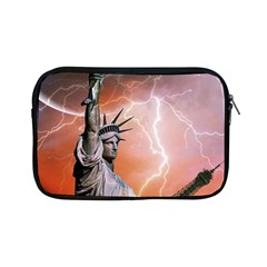 Statue Of Liberty New York Apple Ipad Mini Zipper Cases by Nexatart