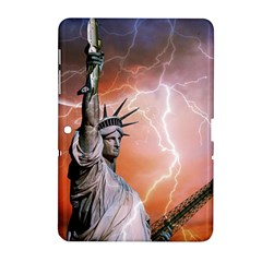 Statue Of Liberty New York Samsung Galaxy Tab 2 (10 1 ) P5100 Hardshell Case  by Nexatart