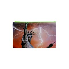 Statue Of Liberty New York Cosmetic Bag (xs)