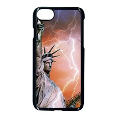Statue Of Liberty New York Apple Iphone 7 Seamless Case (black)