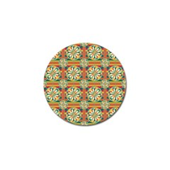 Eye Catching Pattern Golf Ball Marker (4 Pack) by linceazul