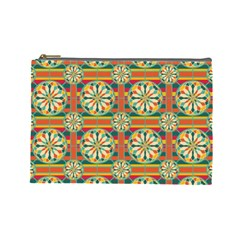 Eye Catching Pattern Cosmetic Bag (large)  by linceazul
