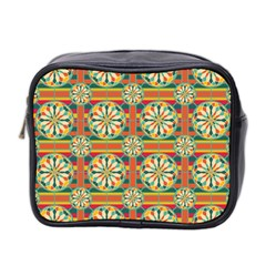 Eye Catching Pattern Mini Toiletries Bag 2 Side by linceazul