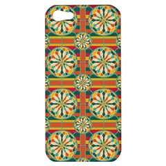 Eye Catching Pattern Apple Iphone 5 Hardshell Case by linceazul