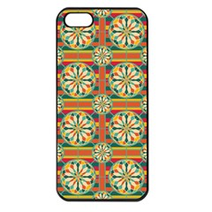 Eye Catching Pattern Apple Iphone 5 Seamless Case (black) by linceazul