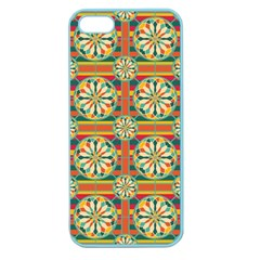 Eye Catching Pattern Apple Seamless Iphone 5 Case (color) by linceazul