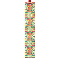 Eye Catching Pattern Large Book Marks by linceazul