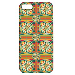 Eye Catching Pattern Apple Iphone 5 Hardshell Case With Stand by linceazul