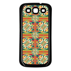 Eye Catching Pattern Samsung Galaxy S3 Back Case (black) by linceazul