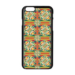 Eye Catching Pattern Apple Iphone 6/6s Black Enamel Case by linceazul