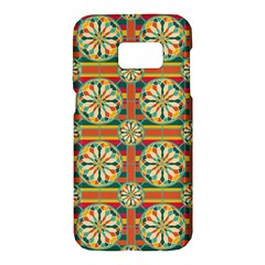 Eye Catching Pattern Samsung Galaxy S7 Hardshell Case  by linceazul
