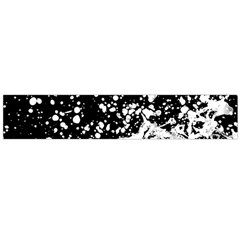 Black And White Splash Texture Flano Scarf (large) by dflcprints