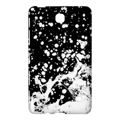 Black And White Splash Texture Samsung Galaxy Tab 4 (7 ) Hardshell Case  by dflcprints