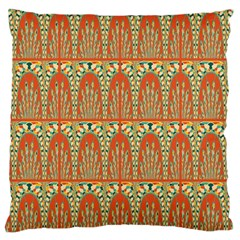 Arcs Pattern Large Cushion Case (two Sides) by linceazul