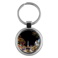 Church Decoration Night Key Chains (round)
