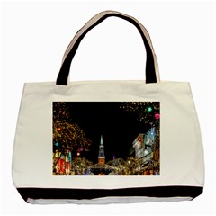 Church Decoration Night Basic Tote Bag (two Sides)
