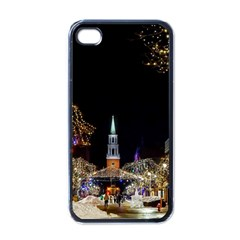 Church Decoration Night Apple Iphone 4 Case (black)