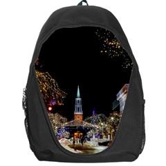 Church Decoration Night Backpack Bag