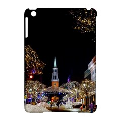 Church Decoration Night Apple Ipad Mini Hardshell Case (compatible With Smart Cover)