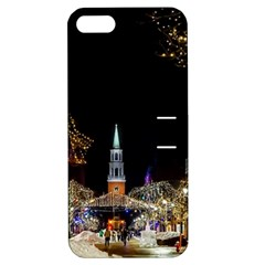 Church Decoration Night Apple Iphone 5 Hardshell Case With Stand by Nexatart
