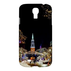 Church Decoration Night Samsung Galaxy S4 I9500/i9505 Hardshell Case by Nexatart