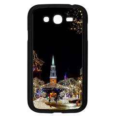 Church Decoration Night Samsung Galaxy Grand Duos I9082 Case (black)