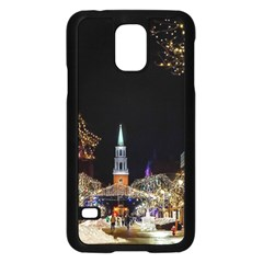 Church Decoration Night Samsung Galaxy S5 Case (black) by Nexatart