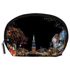 Church Decoration Night Accessory Pouches (large)  by Nexatart