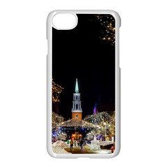 Church Decoration Night Apple Iphone 7 Seamless Case (white)