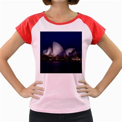 Landmark Sydney Opera House Women s Cap Sleeve T Shirt by Nexatart