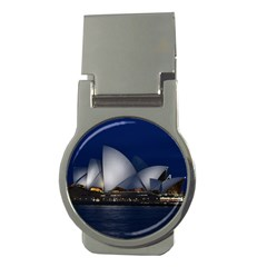 Landmark Sydney Opera House Money Clips (round)