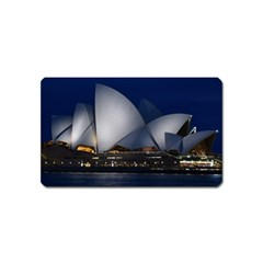 Landmark Sydney Opera House Magnet (name Card) by Nexatart
