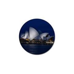 Landmark Sydney Opera House Golf Ball Marker (4 Pack) by Nexatart