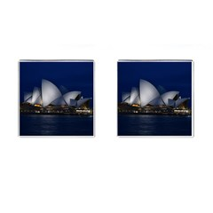 Landmark Sydney Opera House Cufflinks (square)